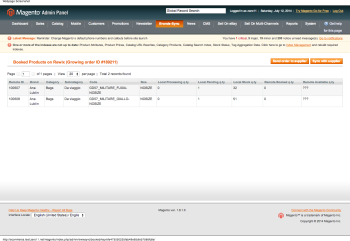 Rewix Sync   Booked Products on Rewix   Magento Admin